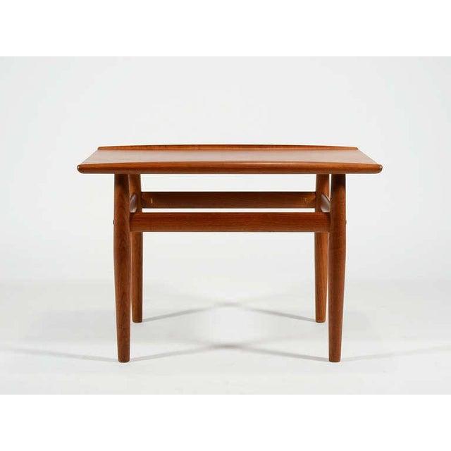 Grete Jalk Teak Side/ End Table by Greta Jalk For Sale - Image 4 of 8