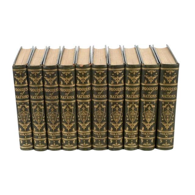"""Progress of Nation"" Books - Set of 10 For Sale"