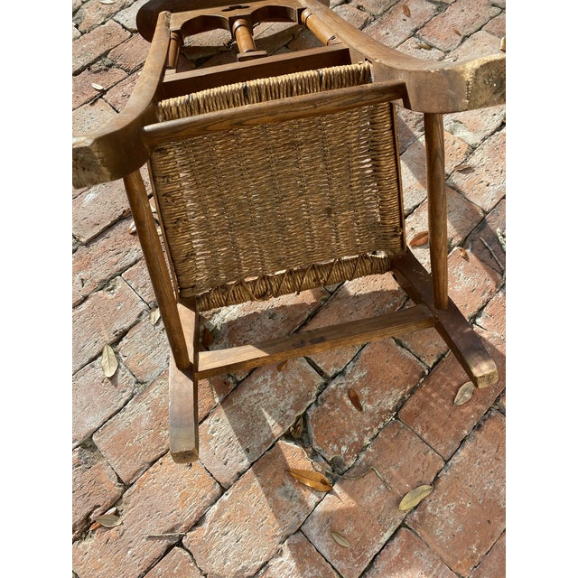 Antique Prayer Chairs - a Pair For Sale - Image 10 of 13