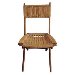 Hans Wegner Inspired Yugoslavian Chairs - Pair For Sale