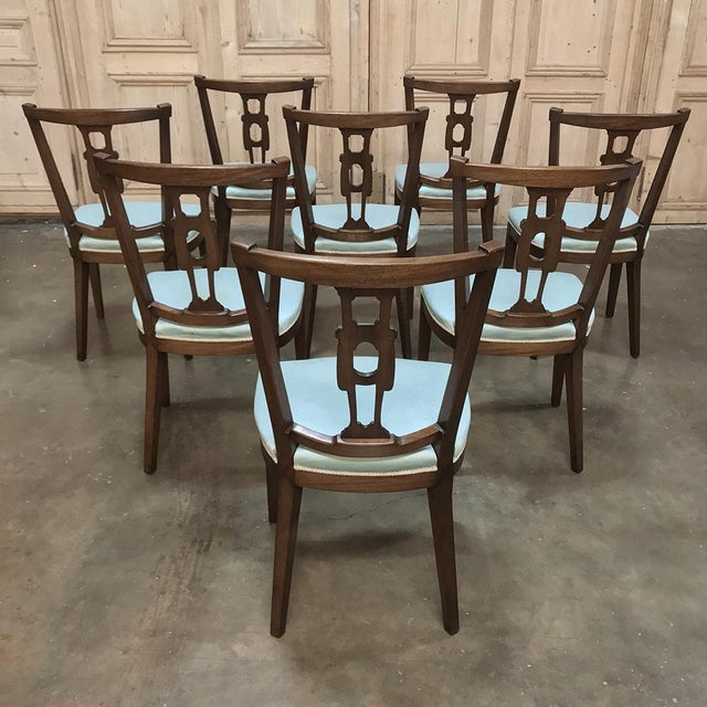 Antique Hepplewhite Dining Chairs - Set of 8 For Sale - Image 11 of 12