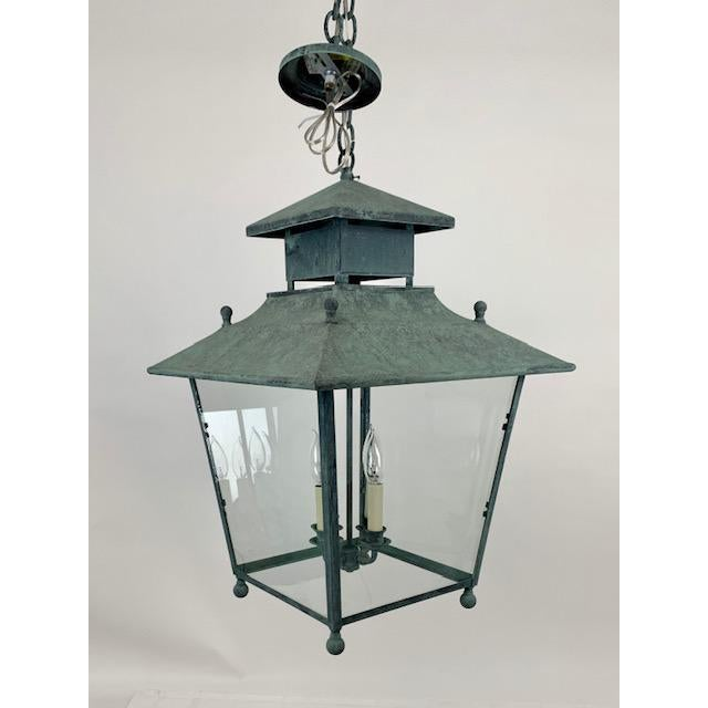 Single 4 Light Lantern by Genie House For Sale - Image 9 of 9