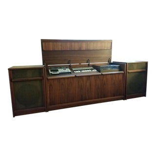 Vintage Barzilay Record Console For Sale