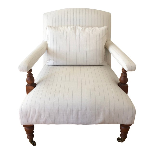 """Traditional Ralph Lauren """"Oliver"""" Accent Chair For Sale"""