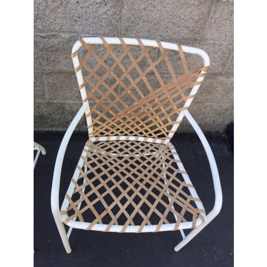 Brown Jordan Vintage Brown Jordan Sculptural Tamiami Patio Chairs - a Pair For Sale - Image 4 of 8