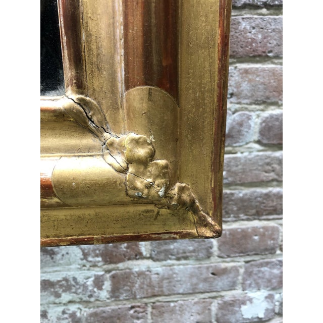 19th Century French Gilded Mirror For Sale - Image 4 of 12