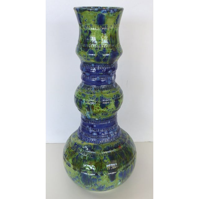 "An original ceramic vase by Miami artist Gary Fonseca from his ""Madonna"" collection. Ceramic artist, Co-founder and former..."