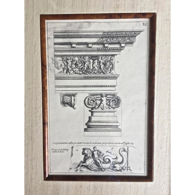 French Classical Elements of Architecture Print Plae #21 For Sale - Image 3 of 4