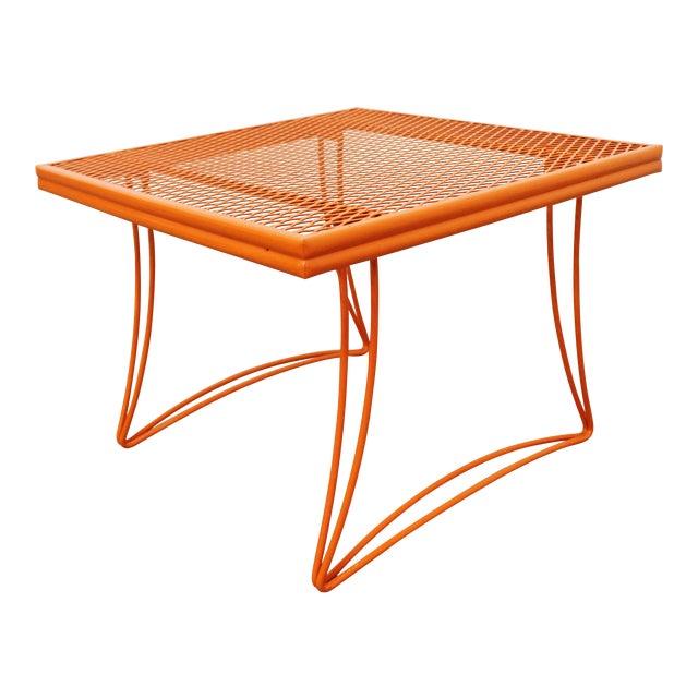 Mid-Century Modern Homecrest Bottemiller Metal End Table 1521 For Sale
