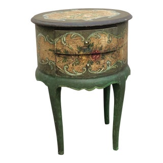 20th Century Italian Handpainted Small Table For Sale