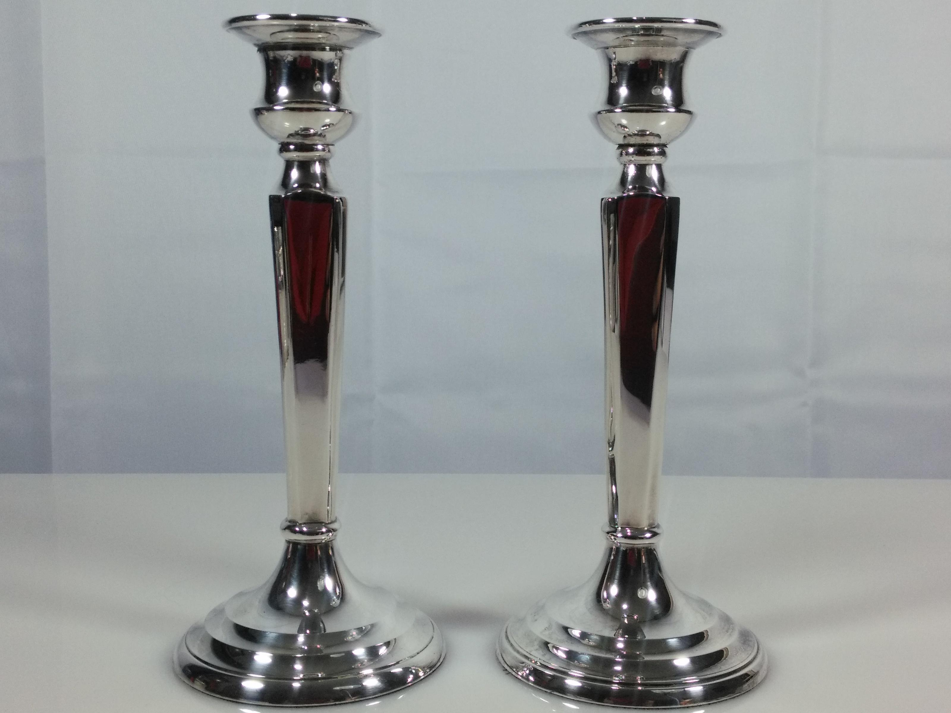 Restoration Hardware Candlesticks A Pair Chairish