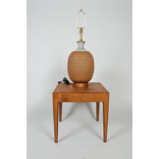 Studio Ceramic Lamp by Phil Barkdoll - Image 6 of 8