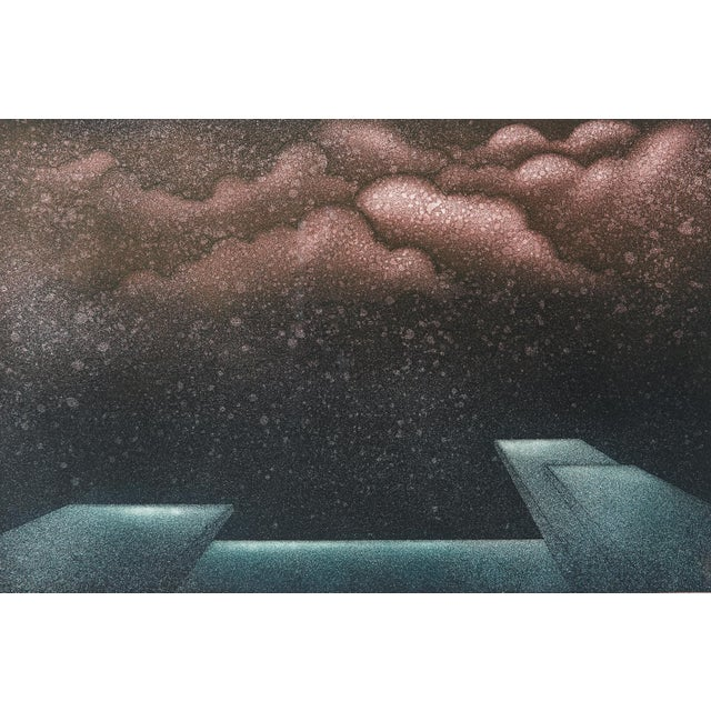 1977 Signed Abstract Lithograph - Image 3 of 7