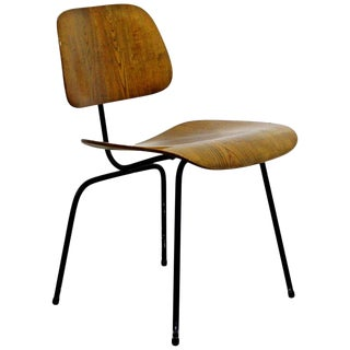 1950s Mid-Century Modern Early Ash Eames for Herman Miller DCM Side Chair For Sale