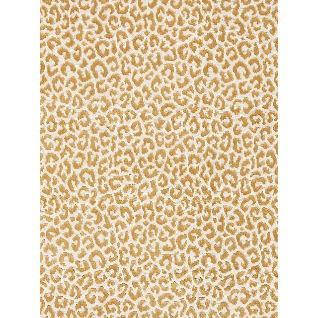 Scalamandre Panthera Velvet, Camel Fabric For Sale