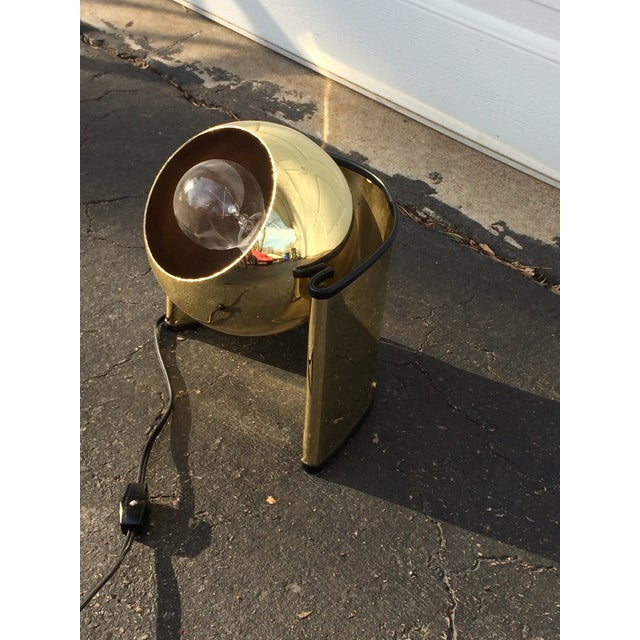 Mid-Century Golden Table Lamp - Image 5 of 7
