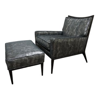 Paul McCobb 1322 Lounge Chair and Ottoman for Directional For Sale