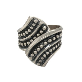 Mexican Sterling Hinged Cuff Bracelet For Sale