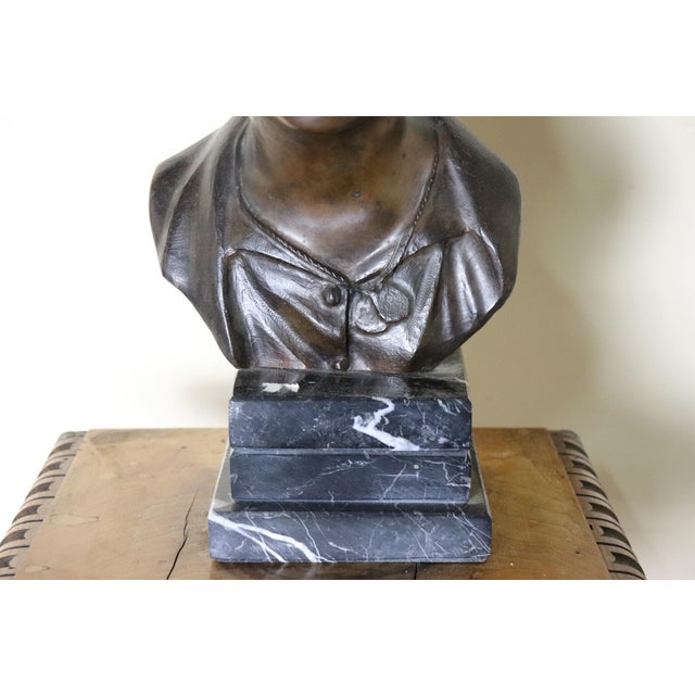 Fine bronze sculpture, late 19th century collection, depicting a young scugnizzo realized by the Neapolitan artist...