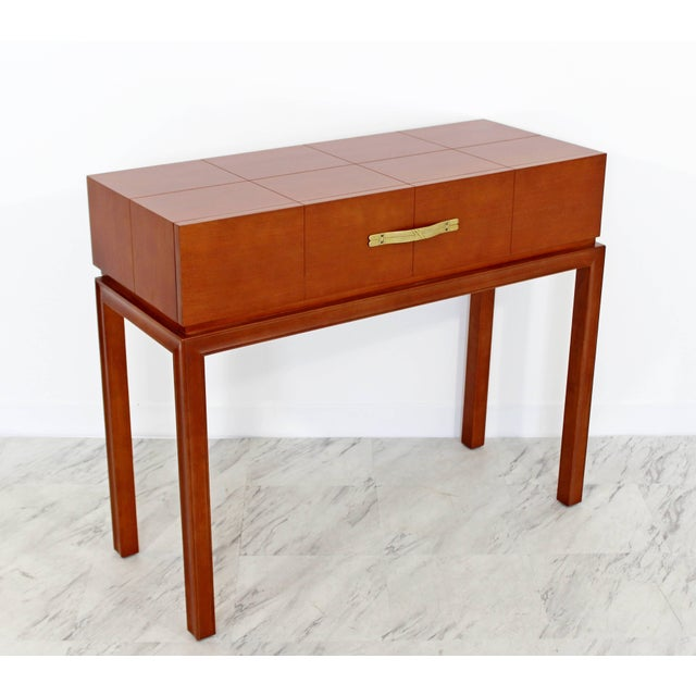 Tommi Parzinger Mid-Century Modern Tommi Parzinger for Charak Console Foyer Table, 1950s For Sale - Image 4 of 10