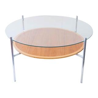 Cast Aluminium & Glass Coffee Table