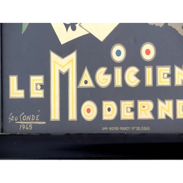French Art Deco Poster by George Conde For Sale - Image 4 of 8