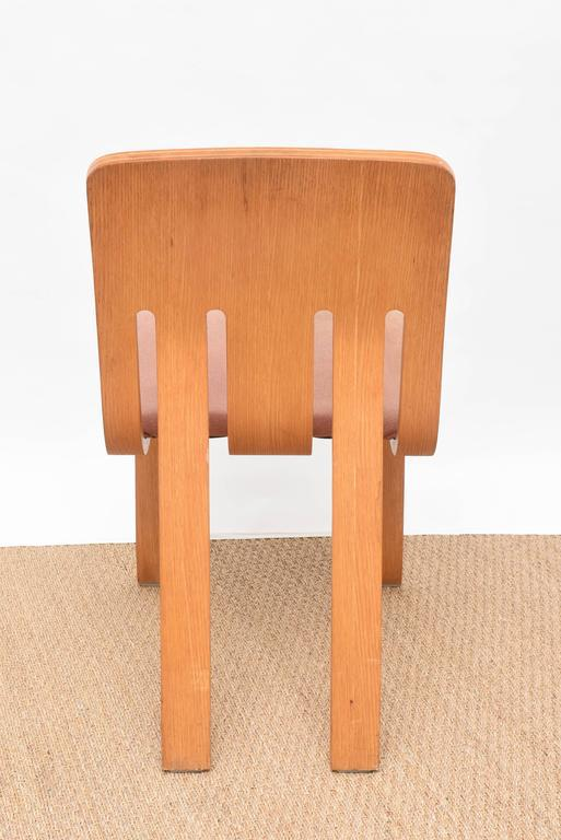 Merveilleux Thonet Bent Plywood Chairs, Set Of 4   Image 7 Of 10
