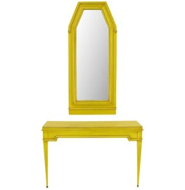 Image of Brass Pier and Console Mirrors