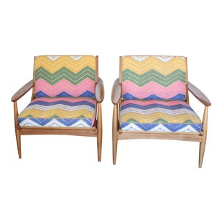 Haverhill Danish Mid-Century Chairs - A Pair