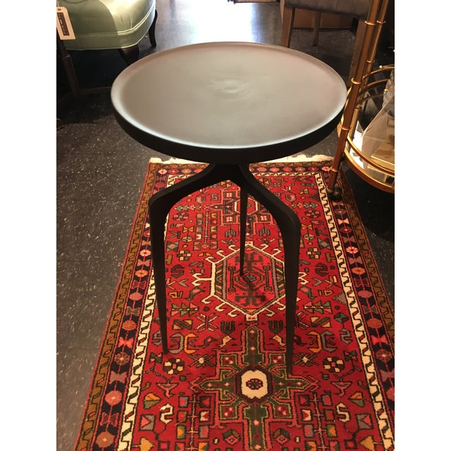 Kenneth Ludwig Chicago Cast Iron Side Table For Sale - Image 4 of 8