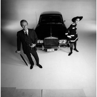"""1968 Steve McQueen and Faye Dunaway for """"The Thomas Crown Affair"""" (16x20 Print) For Sale"""