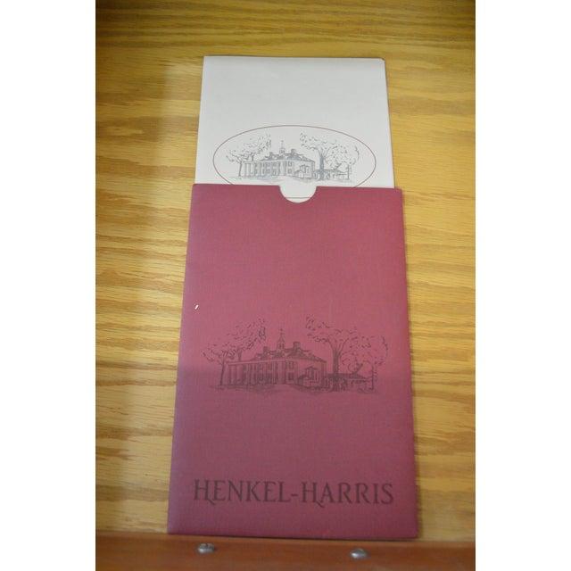 Henkel Harris Mahogany Chippendale Style Dresser - Image 10 of 10