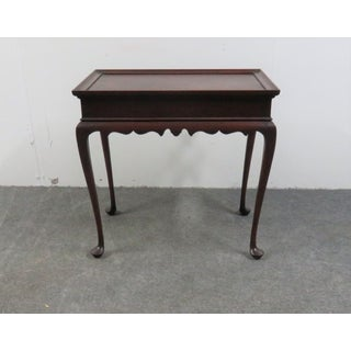 Eldred Wheeler Mahogany Queen Anne Tea Table Preview