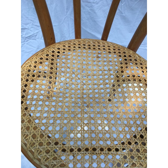 1900 - 1909 1900s Boho Chic Thonet Sweetheart Style Bistro Chairs - a Pair For Sale - Image 5 of 11