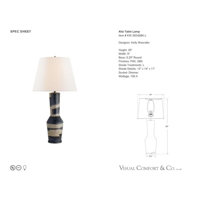 Visual Comfort Alta Table Lamp - Image 2 of 3