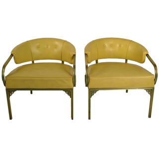 """Pair of Troy Sunshade Company """"Cymbal"""" Line Lounge Chairs For Sale"""