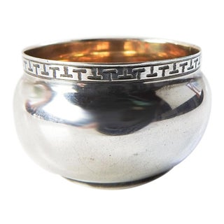 Tiny Art Deco Wmf Silverplate Salt For Sale