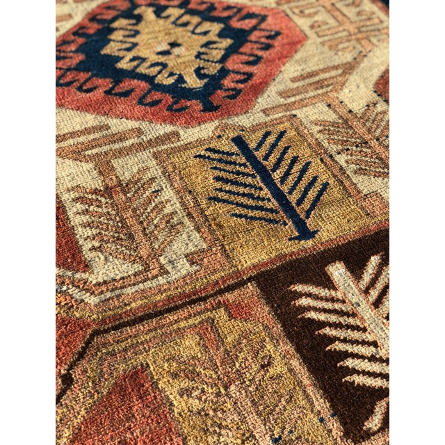 1950s Vintage Persian Sarab Runner Rug - 3′1″ × 10′2″ For Sale - Image 12 of 13