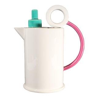 "Marco Zanini for Bitossi Memphis Style Italian ""Hollywood"" Coffeepot For Sale"