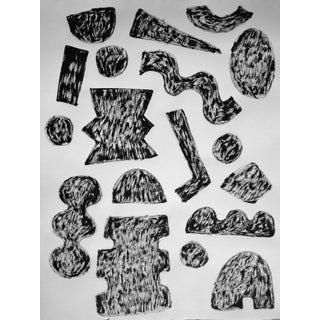 'Alphabet Rough' Ink Drawing For Sale