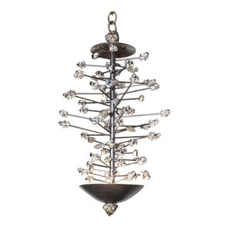 Bang Silver Chandelier by Christine Rouviere For Sale