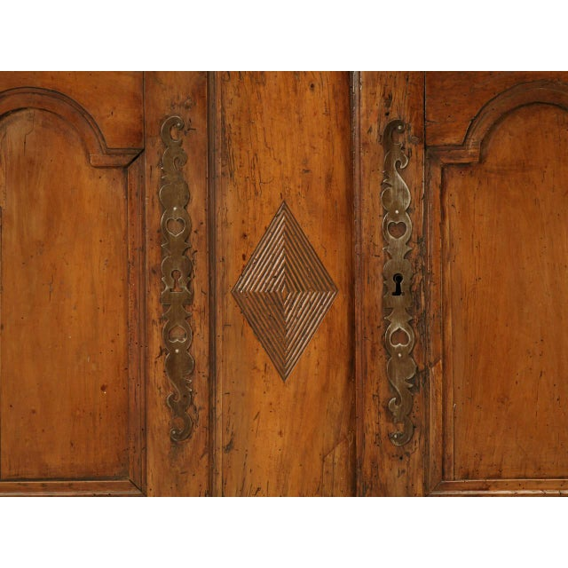 Wood Country French Antique Buffet For Sale - Image 7 of 10