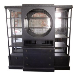 Image of Ebony China and Display Cabinets