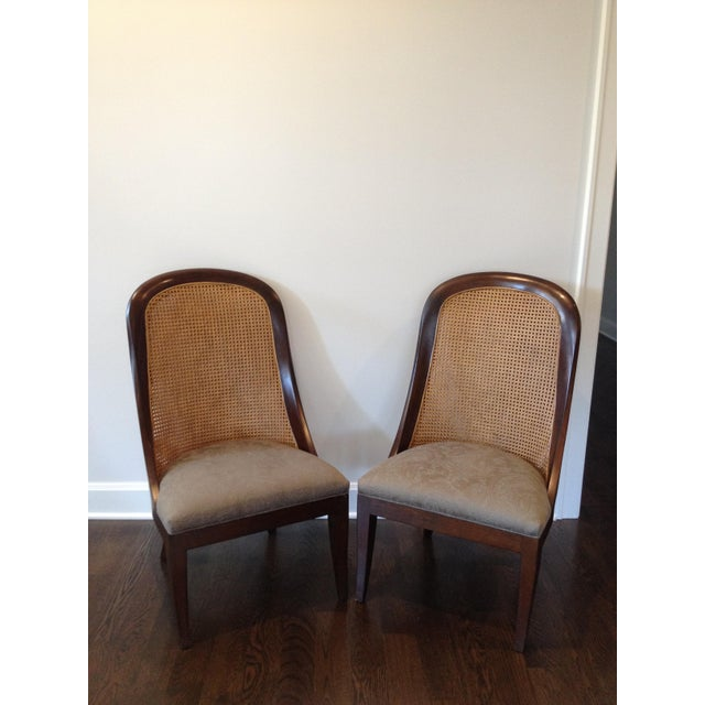 Hickory Chair Co. Caned Back Side Chairs - Pair - Image 2 of 11