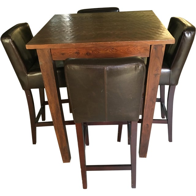 Provence Pub Table With Henry Pub Stools - Image 1 of 5