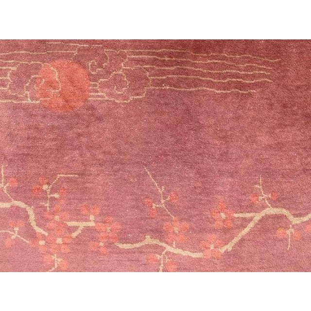 Chinese Art Deco Rug For Sale - Image 4 of 6