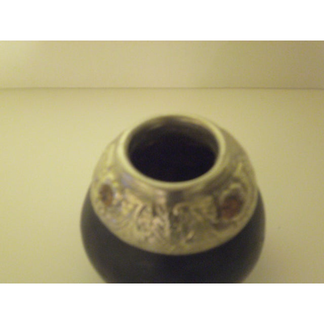 Handcrafted Gourd Vases - Pair - Image 9 of 11
