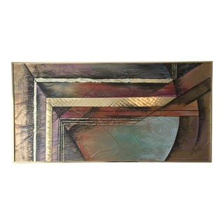 Lee Reynolds Vanguard Studios Mid-Century Abstract Painting For Sale