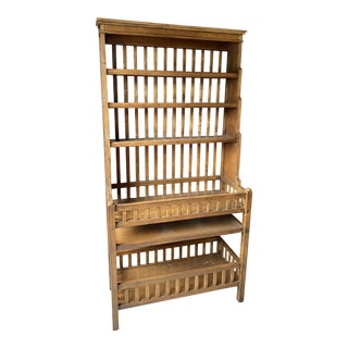 Farmhouse Drexel Heritage Bakers Rack For Sale