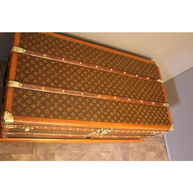 1920s Louis Vuitton Cabin Steamer Trunk For Sale - Image 12 of 13